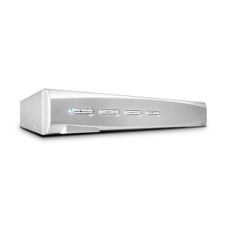 Switch KVM 4 porturi DisplayPort 1.2, USB 2.0 & Audio, Lindy L39305