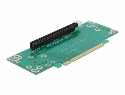 Riser Card PCI Express x16 la x16 insertie stanga, Delock 41982