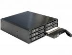 """Rack Mobil 5.25"""" pentru 6 x SATA HDD/SSD, Delock 47221"""