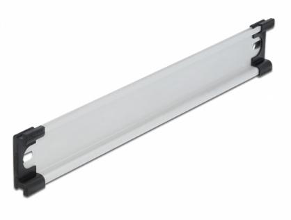 """Sina DIN din aluminiu 35 x 7.5 mm (10""""), Delock 66170"""
