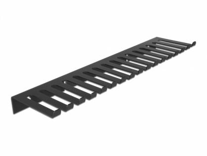 Organizator cabluri 325 x 90mm montare perete, Delock 66728