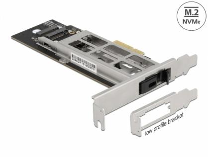 Mobile Rack PCI Express cu 1 x M.2 NVMe SSD, Delock 47003