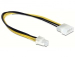 Cablu alimentare P4 la Molex 4 pini T-T 30cm, Delock 65611