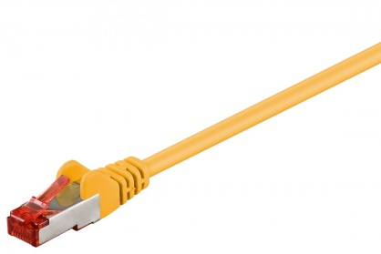 Cablu de retea RJ45 CAT 6 SFTP LSOH Galben 30m, Goobay G68308