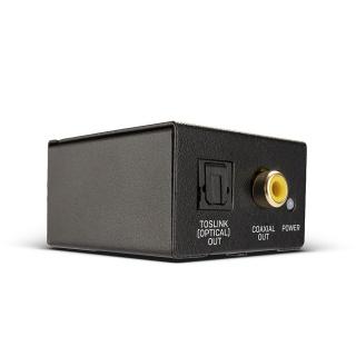 Convertor audio analog RCA la digital Toslink (Optic) & Coaxial ADC, Lindy L70309