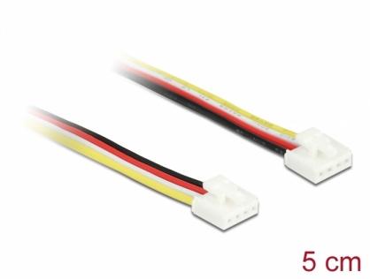 Cablu universal IOT Grove (placi Arduino) 4 pini T-T 5cm, Delock 86951