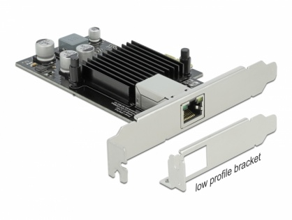 Placa PCI Express la 1 x Gigabit LAN PoE+ i210, Delock 89574