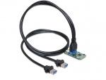 Mini PCIe I/O PCIe 1 x pin header 19 Pini USB 3.0 Full size, Delock 95234