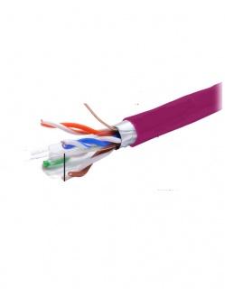 Rola cablu de retea RJ45 305m FTP cat.6 Cu Violet, A0058852
