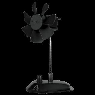 Ventilator cu montare birou USB Negru, Arctic ABACO-BRZBK01-BL