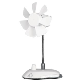 Ventilator cu montare birou USB Alb, Arctic ABACO-BRZWH01-BL