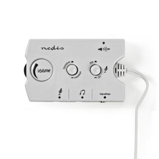 Switch audio jack 3.5mm, Nedis ASCR10020GY