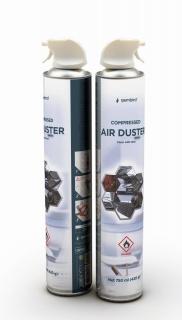 Spray curatare cu aer comprimat (inflamabil) 750ml, Gembird CK-CAD-FL750-01