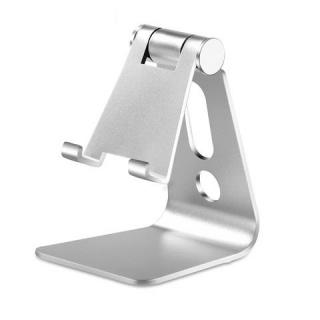 """Suport birou pentru smartphone/tableta 3.5"""" -8.4"""" Aluminiu Argintiu, CP00032"""