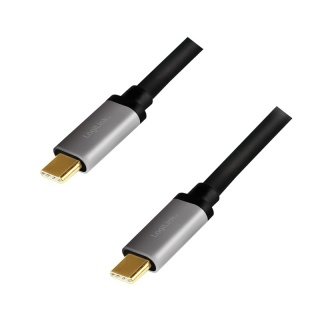 Cablu USB type C T-T cu PD 20V/5A/100W 1.5m, Logilink CUA0106