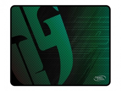 Mouse pad Gaming 300x250mm Negru/Verde, DeepCool DC_PAD