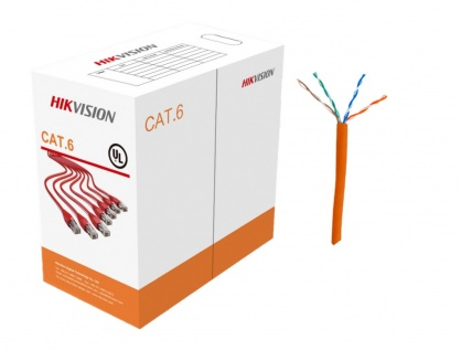 Rola cablu de retea cat.6 UTP 305m Cu, Hikvision DS-1LN6-UU