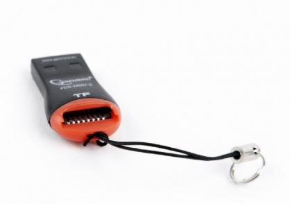 Cititor de carduri USB 2.0 la micro SD, Gembird FD2-MSD-3