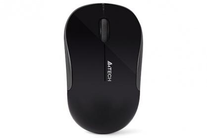 Mouse wireless optic A4Tech Negru, G3-300N-BK (include timbru verde 0.1 lei)