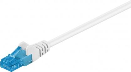 Cablu de retea RJ45 CAT 6A UTP 50m Alb, Goobay 59835