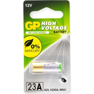 Baterie pentru telecomanda auto 23A 12V, GP Batteries