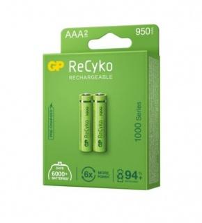 Set 2 acumulatori ReCyco 1000mAh AAA (LR03) 1.2V NiMH, GP Batteries