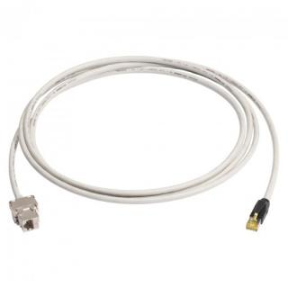 Cablu prelungitor Cat.6A SFTP cu cablu Cat.7 15m T-M Gri, K7F1-1500-GR