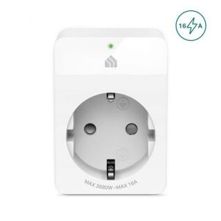 Priza inteligenta Schuko Wi-Fi 16A, TP-LINK KP105