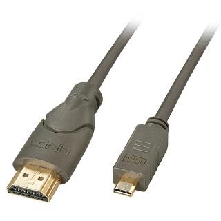 Cablu HDMI la micro HDMI-D T-T 3m, Lindy L41354