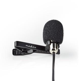Microfon tip lavaliera, Nedis MICCJ105BK