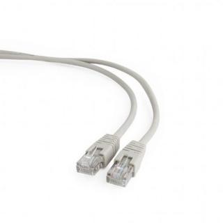 Cablu retea UTP cat 5E 1.5m Gri, Gembird PP12-1.5M
