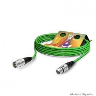Cablu prelungitor XLR 3 pini T-M Verde 20m, SGHN-2000-GN