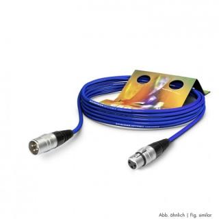 Cablu prelungitor XLR 3 pini T-M Albastru 15m, SGHN-1500-BL
