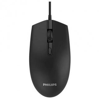 Mouse optic USB negru, Phillips SPK7204