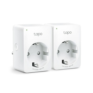 Set 2 bucati priza inteligenta Schuko Wi-Fi, TP-LINK Tapo P100(2-pack)