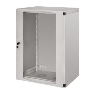 """Cabinet perete 19"""" 15U 540 x 450 mm Gri, Logilink W15F64G"""