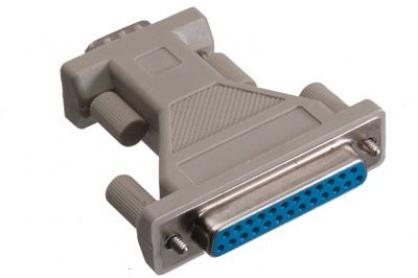 Adaptor DB25 pini la DB9 pini M-T, r29fm