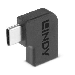 Adaptor USB 3.2 Gen 2x2 Type C unghi 90 grade T-M, Lindy L41894