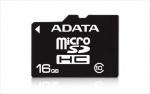 Card memorie micro SDHC 16GB clasa 10, ADATA AUSDH16GUICL10-R