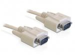 Cablu serial D-Sub 9 T-T 2m, Delock 82981