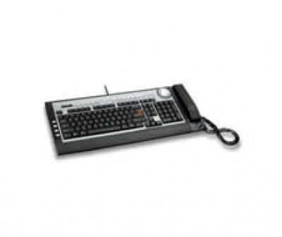 Tastatura Delux Slim Multimedia Silver&Black, DLK-5200U