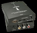 Convertor HDMI la S-Video/Composite Video & Audio, Lindy L38093