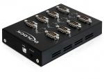 Adaptor USB la 8 porturi Serial RS232, Delock 61860