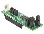 Convertor SATA Host la 2 dispozitive SATA cu RAID, Delock 62466