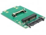 Convertor Micro SATA 16 pini la mSATA half size, Delock 62519