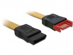 Cablu prelungitor SATA II 3 Gb/s date 100cm, Delock 82666